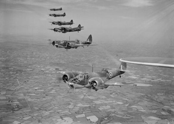 Bristol_Blenheim_Mk_IVFs_of_No._254_Squadron_RAF_flying_from_Aldergrove_in_Northern_Ireland,_May_1941._CH2992